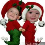 "Fotomontajes navideños ""duendecillos"""