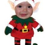 Fotomontaje de navidad en Faceinhole.com