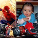 Fotomontaje con Spider-Man