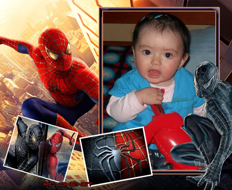 Fotomontaje con Spider-Man | Programas para editar fotos
