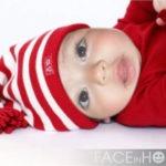 Fotomontaje infantil con un bebé
