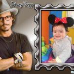 "Fotomontaje con famosos ""Johnny Depp"""