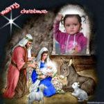"""Fotomontaje de navidad """"Merry christmas"""""""