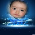 Desea un Feliz año nuevo 2012
