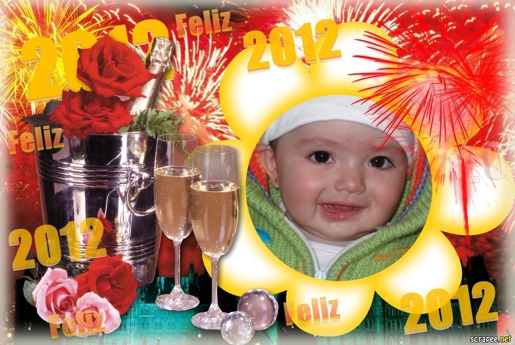 marco para fotos año nuevo