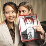 Fotomontaje en una famosa revista