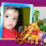 Marco para fotos con Winie Pooh