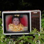 Fotomontaje online en televisor viejo
