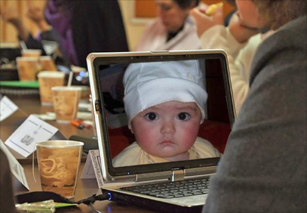 Fotomontaje-laptop
