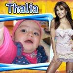 Marco para foto con Thalia
