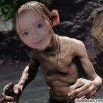 Crear fotos divertidas gratis con Gollum