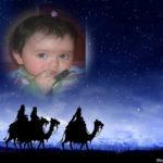 Pega tu foto con los tres reyes magos