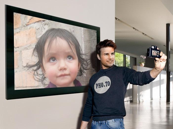 fotomontaje con Tom Cruise