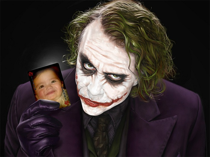 fotomontaje de Movie Joker