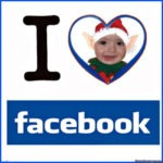 "Fotomontaje "" I love facebook"""