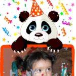 Desea un Feliz Cumpleaños con Fotoefectos.com