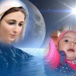 Hacer fotomontaje gratis junto a la Virgen María