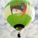 Fotomontaje gratis en un globo aerostático