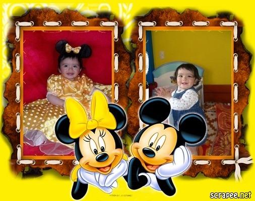 marco de fotos infantiles