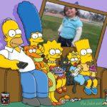 Hacer un fotomontaje con la familia Simpson