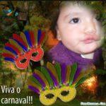 Realizar fotomontajes con fondo del carnaval
