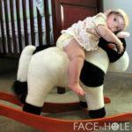 Te presentamos un hermoso fotomontaje infantil
