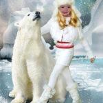 Crear fotomontaje gratis con un oso polar