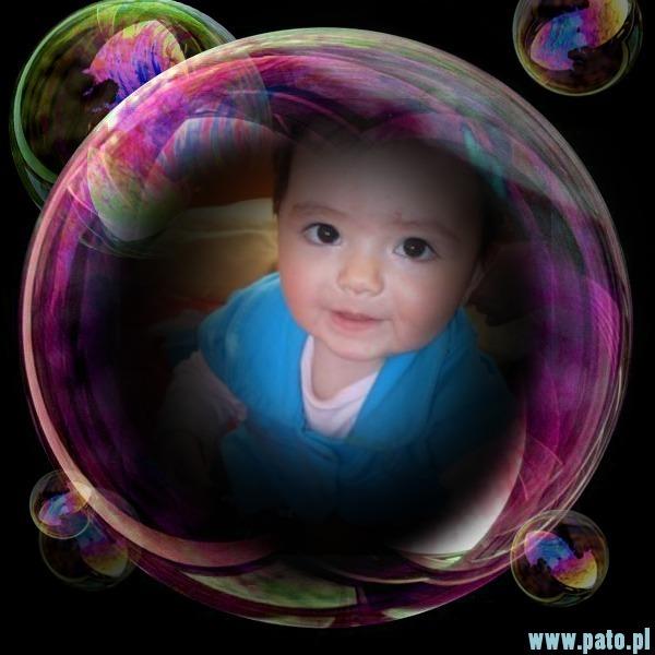 fotomontaje burbuja