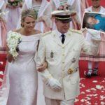 Fotomontaje de matrimonio católico