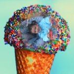Fotomontaje gratis online en un helado