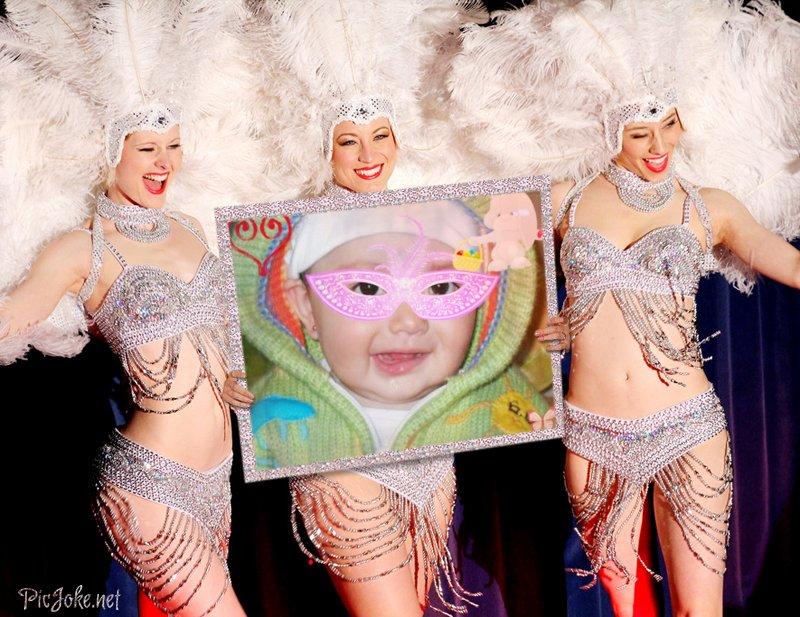 fotomontaje gratis de carnaval de rio de janeiro