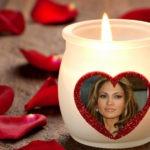 Fotomontaje online en vela de amor