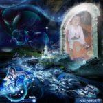 Fotomontaje online con el signo zodiacal Acuario