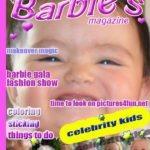Edita tus fotos en la portada de la revista Barbie`s