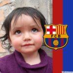 Fotomontaje gratis con el escudo del Barsa