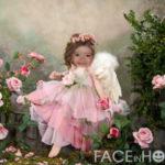 Crea tu fotomontaje gratis en rostro de una dulce princesa