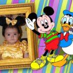 Fotomontaje online con Mickey Mouse y el pato Donald