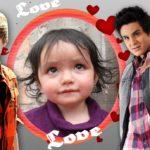 Fotomontaje online con Justin Bieber y Luan Santana
