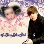Fotomontaje gratis con Justin Bieber