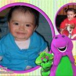 Fotomontaje infantil gratis con Barney y sus amigos