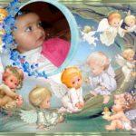 Fotomontaje online con ángeles