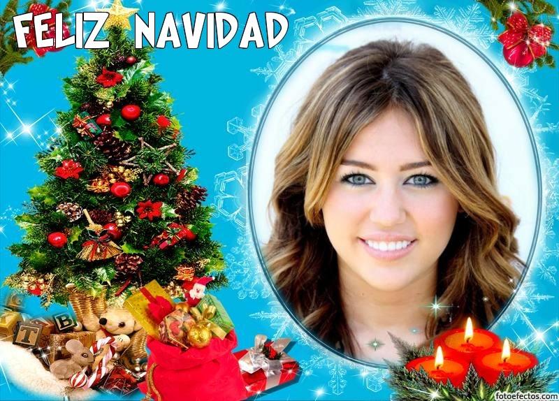 Postales de navidad en fotoefectos.com