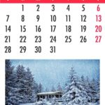 Hacer calendarios personalizados