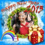 Marcos para fotos gratis online de año nuevo