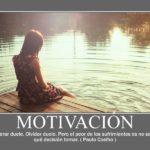 Frase de motivación de Paulo Coelho