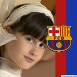 Programa para hacer fotomontajes con el escudo del Fútbol Club Barcelona