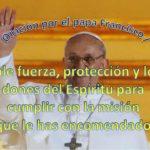 Tarjeta virtual gratis con oración por el papa Francisco I