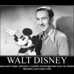 Carteles de motivación con frases de Walt Disney