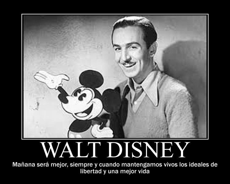 Carteles De Motivación Con Frases De Walt Disney Programas