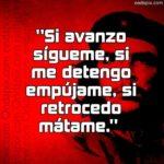 Programa para editar notas (frases del Che Guevara)